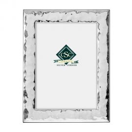 Silver Wavy Picture Frame