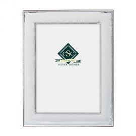 Silver Hammered Picture Frame - GLOW