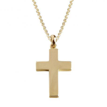 Χειροποίητος Ανδρικός Σταυρός Βάπτισης
