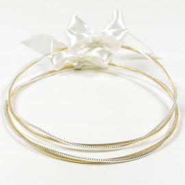 Ασημένια Στέφανα Γάμου FANTASY GOLD