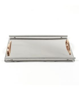 Stainless Steel Tray INOX BARS ROSE GOLD