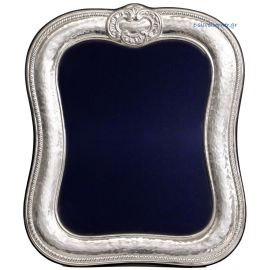 Sterling silver photo frame - Antique Reproduction with ribbon ties