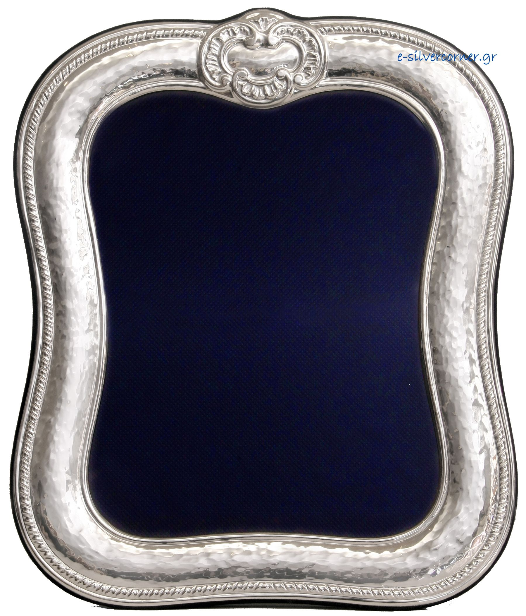 Sterling silver photo frame - Antique Reproduction with ribbon ties ...