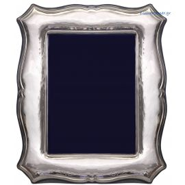 Sterling silver photo frame - Traditional Queen Design