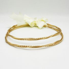 Handmade Wedding Crowns LINDA GOLD