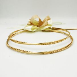 Handmade Wedding Crowns GLORIA GOLD