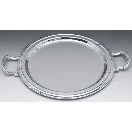 Silver Plated Wedding Tray INOX CLASSIC OVAL