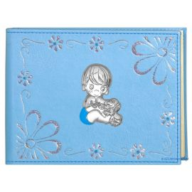 Ciel Leather Photo Album with Daisies