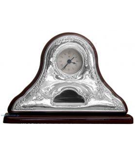Sterling silver pendulum clock
