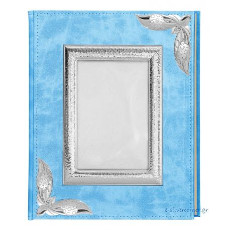 Ciel Leather Photo Album with Picture Frame