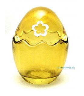 Γυάλινο Πασχαλινό Αυγό Μελί