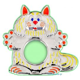 Kitty Silver Picture Frame