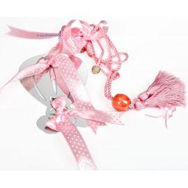 Hot-Air Balloon Baby Girl's Charm