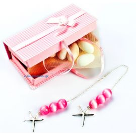Worry Beads in Tartan Box