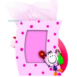Pink Picture Frame Bomboniere