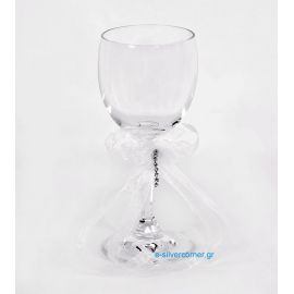 Crystal Wedding Wine Glass BOHEMIAN MARIGOLD
