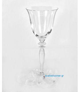Ποτήρι Κρασιού για Γάμο RONA ROSE