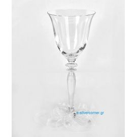 Crystal Wedding Wine Glass RONA ROSE