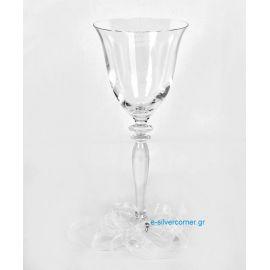 Crystal Wedding Wine Glass RONA ROSE