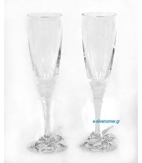 Champagne Glasses SP CHAMPAIGN GARDENIA