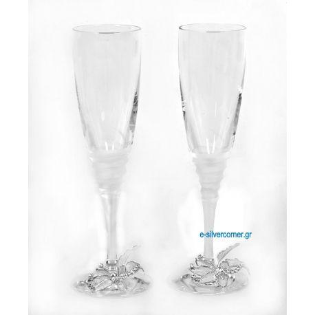 Champagne Glasses SP CHAMPAGNE GARDENIA