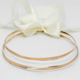 Wedding Crowns with Pink Gold