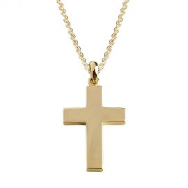 Gold Baptism Crosses