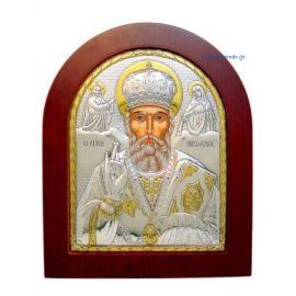 Orthodox Byzantine Silver Icons