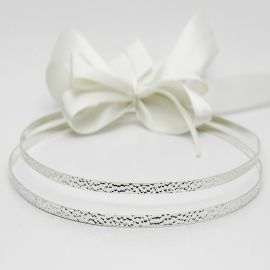 Silver-Plated Wedding Crowns